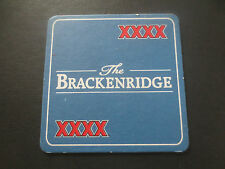 1 only CASTLEMAINE XXXX / BRACKENRIDGE Special Issue collectable COASTER