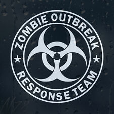 Zombie Outbreak Response Team Car Phone Window Laptop Wall Decal Vinyl Sticker