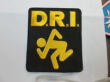 DRI COLLECTABLE RARE VINTAGE PATCH EMBROIDED 90'S  PUNK DIRTY ROTTEN IMBECILES