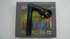 Vintage NOS Classic 80's 3ttt RECORD 84 NERO Quill Stem 90mm BOXED MINT