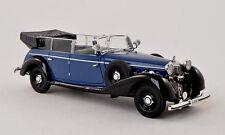 wonderful modelcar Mercedes-Benz  770K CONVERTIBLE  1938 - blue/black -  1/43