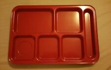 2 x pottery barn kids trays ( red )