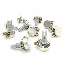 10x A10k ELectric Bass Guitar Volume Tone Pots Audio Volume Switch Potentiometer