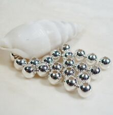 Smooth Seamless Round Spacer Beads Sterling Silver Filled 20/925 4 MM (20)