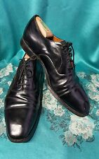 CHURCHS BLACK CAPTOE OXFORD DRESS SHOES MADE IN ENGLAND SZ 10.5 D GREAT CONDITIO