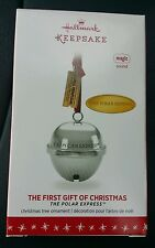 Hallmark Keepsake Ornament Polar Express First Gift of Christmas Bell 2016 NIB