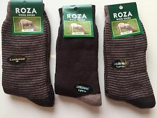 3 pairs MENS LUXURY WOOL BLEND THERMAL SOCKS TICK WALKING HIKING BOOT  JFDCXZ
