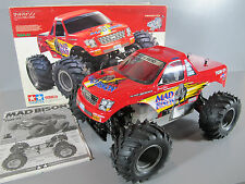 Vintage Original Tamiya 1/10 RC Mad Bison FS-15LT Glow Engine 4WD Racing Truck
