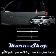 Chrome Door Window Sill Belt Line Cover Tirm for 07~12 Hyundai Santa Fe