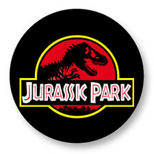 "Pin Button Badge Ø25mm 1"" Jurassic Park Film Movie Steven Spielberg Dinosaure"