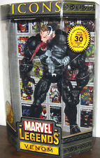 MARVEL LEGENDS Icons_VENOM 12 inch action figure_UNMASKED_Variant_New_MIB_TOYBIZ