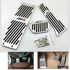 Foot Rest Brake Gas Pedal Plate Foot Pedal For BMW ///M X3 F10 F11 F18 Auto AT