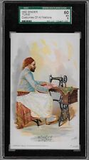 1892 Singer Tunis Costumes of all Nations SGC 60