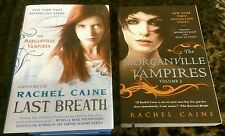 New Morganville Vampires Midnight Alley Feast of Fools & Last Breath Rachel Cain