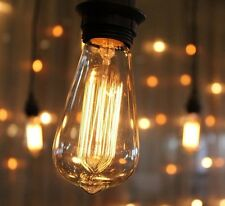 Vintage Industrial Filament Light Bulbs Squirrel Cage Antique Style E27/B22 - 60
