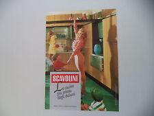 advertising Pubblicità 1990 CUCINA SCAVOLINI e LORELLA CUCCARINI