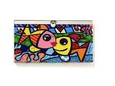 Romero Britto  Snap-Close Wallet - Deeply in Love - NEW with tag