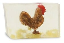 Primal Elements ROOSTER Cock-a-doodle-do Large Bar 7.0 oz+ not 6.0 Glycerin Soap