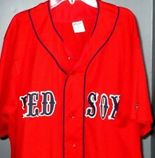 Southland Athletic Red Red Sox Number 10 Jersey Size Large L Flaws