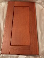 Cabinet Kitchen  400 mm   solid oak Door dark wood panel -Light cherry Shaker