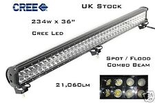 234w CREE LED COMBO BEAM OFFROAD DRIVING SUV 4WD WORK LAMP JEEP TRUCK LIGHT BAR