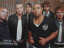 Timbaland One Republic Poster neu