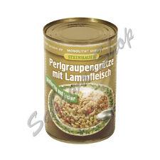 Gerstengraupengrütze mit Lammfleisch Wurst Fleisch Fleischprodukte Feinschmecker