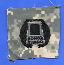 US ARMY EMBROIDERED BADGE ON ACU SEW ON: TOMB OF THE UNKNOWN HONOR GUARD
