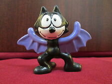 "VTG 1989 Applause Felix the Cat Halloween Bat Vampire Costume 2.5"" PVC Figure"