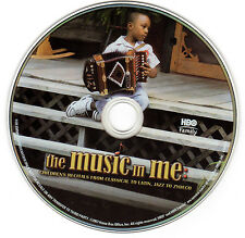 THE MUSIC IN ME DVD ~ HBO, Zydeco, Accordion, Rare Documentary ~ CHILD MUSICIANS