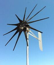 WIND TURBINE WIND GENERATOR 900 WATT 11 blade LOW WIND 48 VOLT AC 3-PH