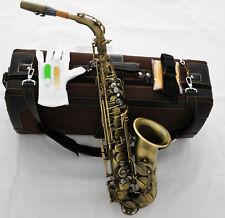 new Professional Eb Alto Saxophone Mark VI Model Sax Antique Finish With Case