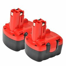 2 Battery 14.4V 2.0Ah for BOSCH 2 607 335 534 BAT038 BAT040 BAT140 BAT159 BAT041
