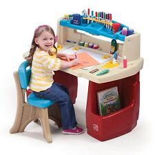 Art Desk Picture Easel Stand Kids Entertainment Teaching Paint Storage Furniture