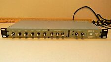 Peavey SMR-6 6 Channel Rack Mixer Portable 120 VAC or 12 Volt DC Operation