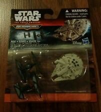 "STAR WARS EPISODE 7 MICRO MACHINES""TIE FIGHTER ATTACK""THE FORCE AWAKENS VEHICLES"