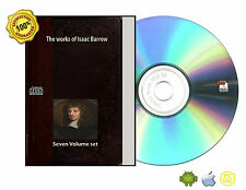 The works of Isaac Barrow in Seven volume set eBook CDROM