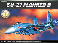 Academy Aircraft Hobby 1/48 Scale Plastic Model Kit SU-27 Franker B #12270A