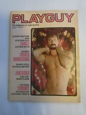 Vintage Gay Magazine, Playguy Volume 1. Nimber 4 1977