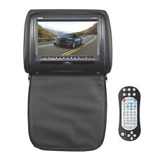 "Pyle PL73DBK 7"" Hi-Res Headrest Video Display Monitor Built-in DVD, USB &Remote"