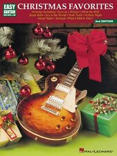 Christmas Favorites 2nd Edition Sheet Music Easy Guitar with Notes & T 000699097