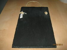 Kitchen sized Welsh slate chalk memoboard message board shopping list-gift