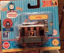 Take Along n Play Thomas  limited edition METALLIC shiny finish TOBY   nib