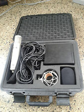 Stellar CM-1 tube condenser mic case drum bass vocal guitar trumpet microphone