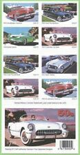 """USA BOOKLET: SC# 3935b - 50""""S SPORTY CARS 20 S.A.37c. STAMPS PL# P1111"""