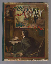 THE RAVEN (1883) Edgar Allan Poe W.L. TAYLOR Illustrated, 1st Ed.Thus, EP Dutton