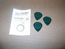 3 Animals as Leaders Guitar Picks Green PRIMETONE Dunlop Jazz XL 0.73Abasi Reyes