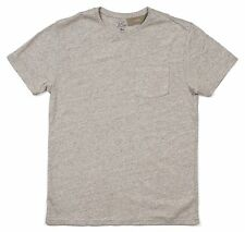 *NEW* J.Crew Men's Medium Slim Flagstone Pocket T-Shirt - Heather Gray