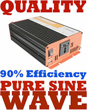 12V 1000W SOFT START PURE SINE WAVE INVERTER. THESE ARE HIGHER QUALITY