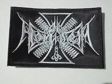 AD HOMINEM BLACK METAL EMBROIDERED PATCH